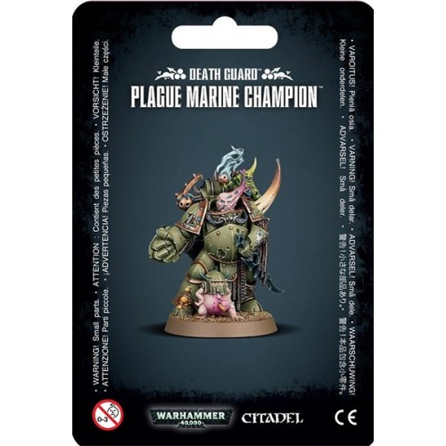 DEATH GUARD PLAGUE MARINE CHAMPION - GAMES WORKSHOP 43-48