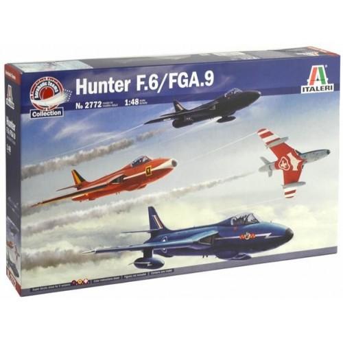 HAWKER HUNTER F.6/FGA.9 -Equipos Acrobaticos- Italeri 2772