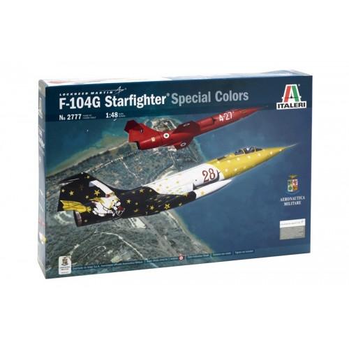 LOCKHEED F-104 G STARFIGHTER - ESCALA 1/48 - Italeri 2777