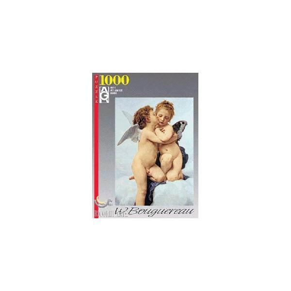 PUZZLE 1000pzas PRIMER BESO-BOUGEREAU
