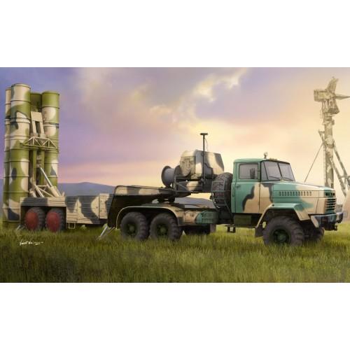 CAMION KrAZ-260B & SISTEMA DE MISILES 5P85TE TEL S-300PMU - Hobby Boss 85511