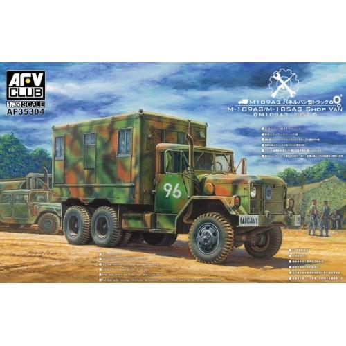 CAMION M-109 A3 (2,5 ton) Shop Van - AFV Club AF35304
