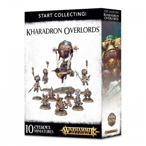 START COLLECTING KHARADRON OVERLORDS - GAMES WORKSHOP 70-80