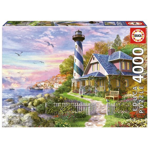 PUZZLE 4000 PZS FARO ROCK BAY - EDUCA 17677