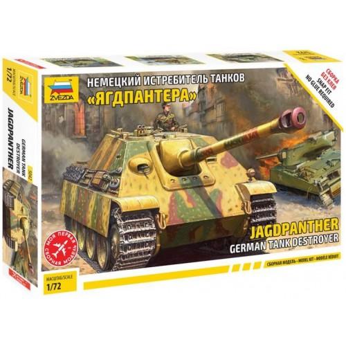CAZACARROS Sd.Kfz. 173 Jagdpanther -Escala 1/72- Zvezda 5042