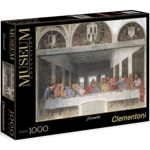 PUZZLE 1000 PZS LAS ULTIMA CENA DE LEONARDO DAVINCI - CLEMENTONI 31447