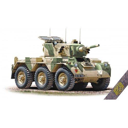 VEHICULO BLINDADO FV-601 SALADIN -1/72 - Ace Model 72435