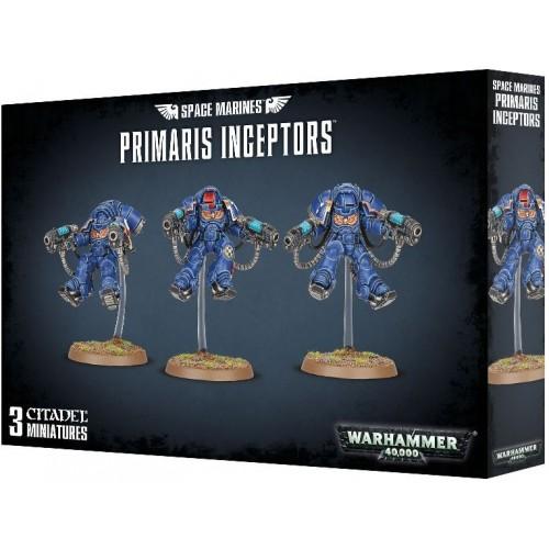 SPACE MARINES PRIMARIS INCEPTORS - GAMES WORKSHOP 48-79