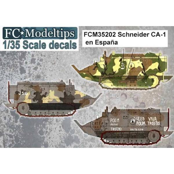 CALCAS SCHNEIDER CA-1 ESPAÑA - FC Modeltips C35202