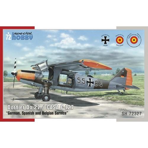 DORNIER DO-27 (Calcas Españolas) -1/72 - SPECIAL HOBBY SH72327