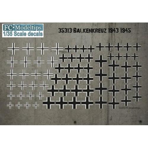 BALKENKRUEZ 1943 - 1945 1/35 - FC Modeltips 352113