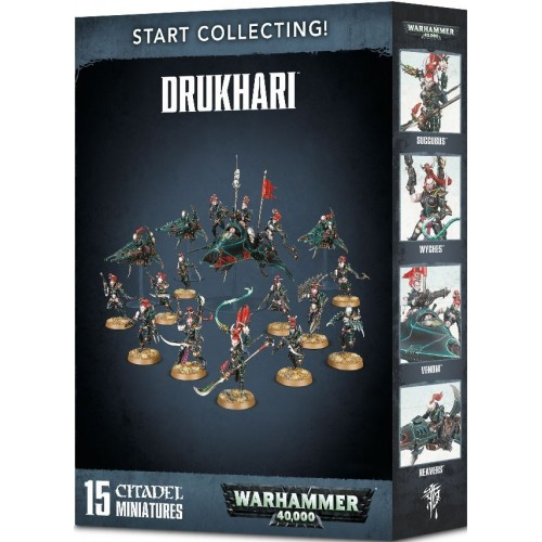 START COLLECTING DRUKHARI - GAMES WORKSHOP 70-45 2018