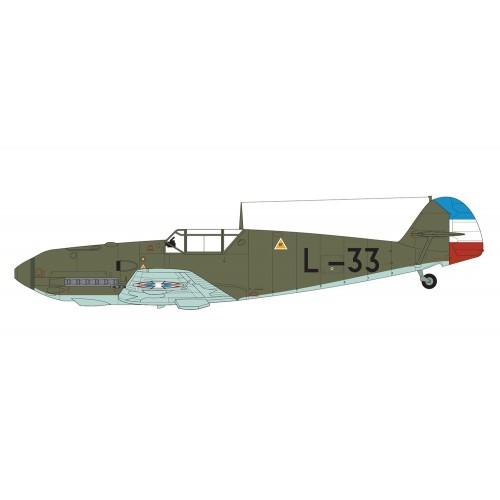 MESSERSCHMITT Bf-109 E-4 / E-1 ESCALA 1/48 - Airfix A05120B