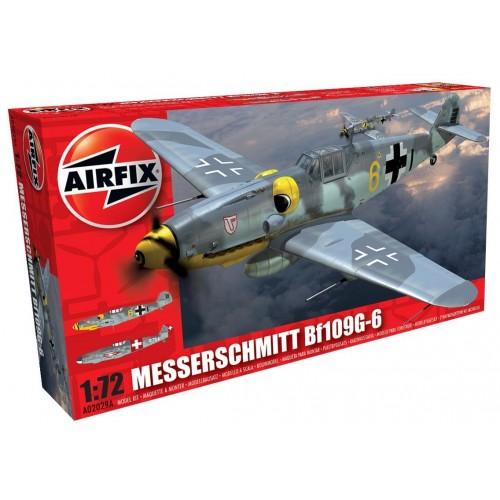 MESSERSCHMITT Bf-109 G-6 -Escala 1/72 - Airfix A02029A