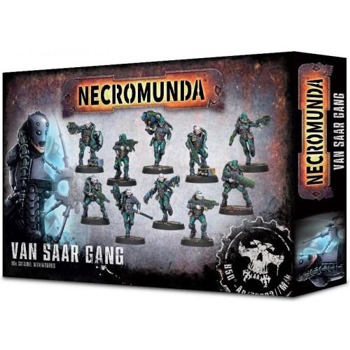NECROMUNDA VAN SAAR GANG - GAMES WORKSHOP 300-29