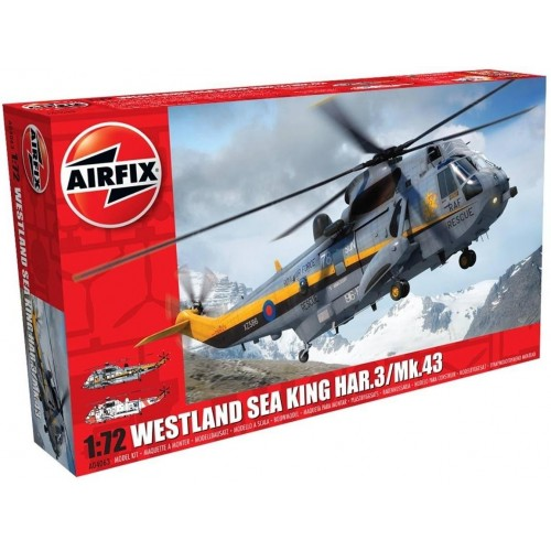WESTLAND SEA KING HAR.3 / MK.43 1/72 - Airfix A04063