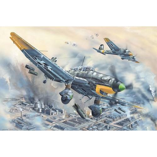 JUNKERS JU-87 D-5 Stuka -Escala 1/24 - Trumpeter 02424