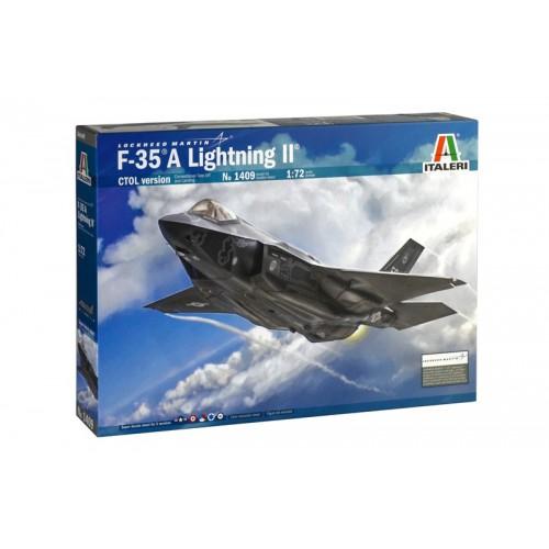 LOCKHEED MARTIN F-35 A LIGHTNING - ESCALA 1/72 - ITALERI 1409