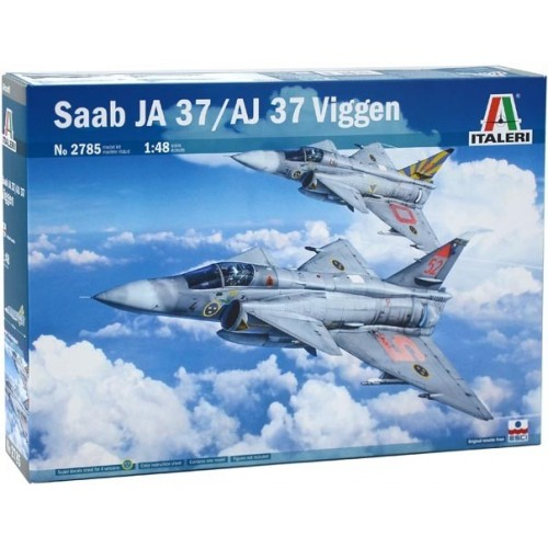SAAB JA-37 / AJ-37 VIGGEN 1/48 - Italeri 2785