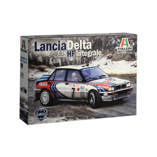 LANCIA DELTA HF INTERGRALE - ESCALA 1/24 - ITALERI 3658