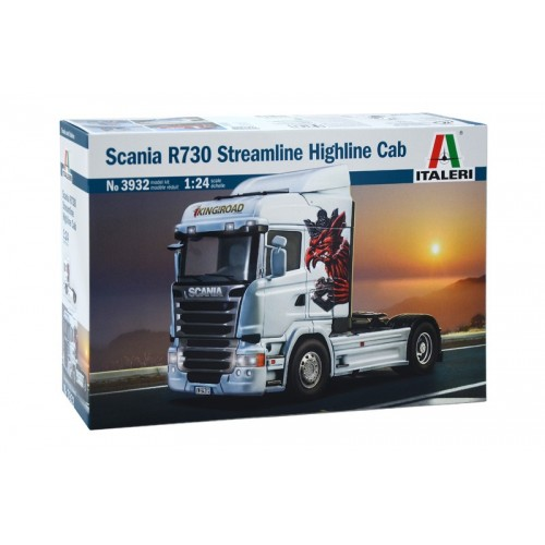 SCANIA R730 STREAMLINE HIGHLINE CAB 1/24 - Italeri 3932