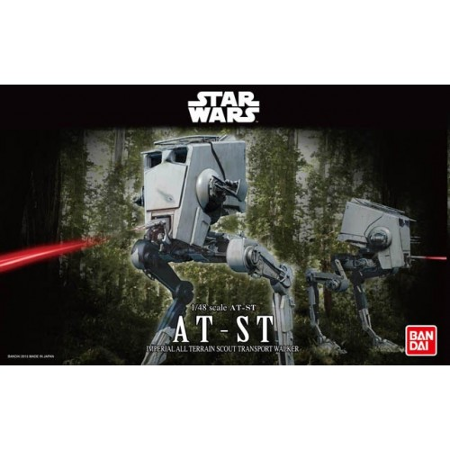 STAR WARS: AT-ST -Escala 1/48 - Bandai 0194869