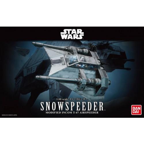 STAR WARS: SNOWSPEEDER -Escala 1/48 - Bandai 0196692