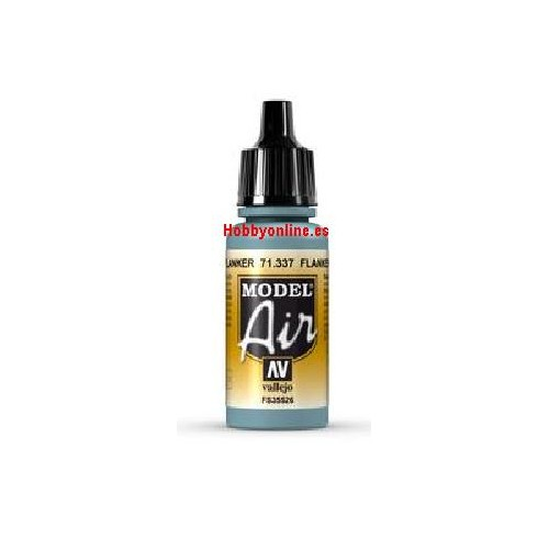 PINTURA ACRILICA AZUL FLANKER (17 ml) - Vallejo 71337