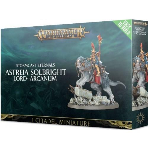 ASTREIA SOLBRIGHT LORD ARCANUM - GAMES WORKSHOP 71-12