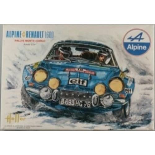 RENAULT ALPINE A110 (1600) -Escala 1/24 - Heller 80745