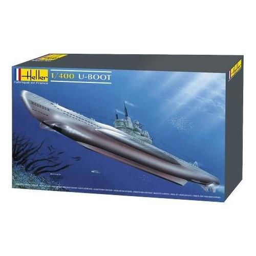 SUBMARINO U-BOOT Type VII 1/400 - Heller 81002