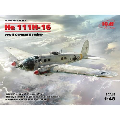 HEINKEL He-111 H-16 1/48 - ICM 48263