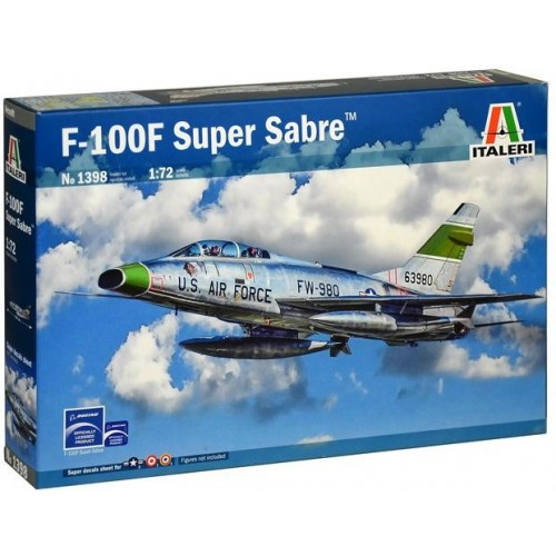 NORTH AMERICAN F-100 F SUPER SABRE 1/72 - Italeri 1398