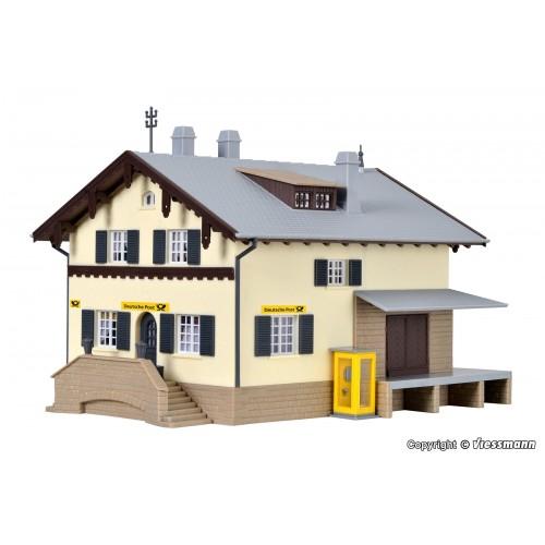 OFICINA DE CORREOS ESCALA H0 (17.2x14.5x13cms) KIBRI 38824