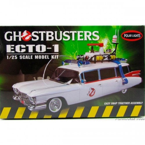 ECTO-1 -Ghostbusters- 1/25 - Polar Lights 914/12