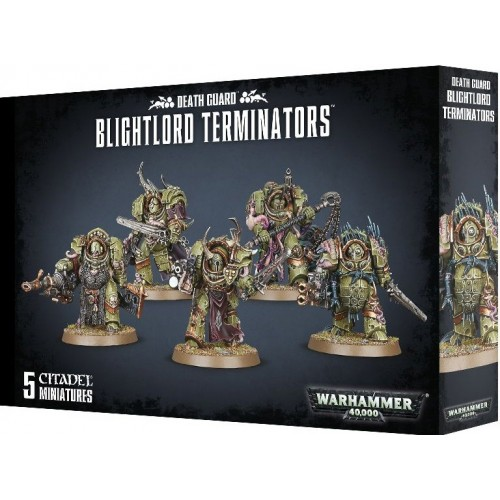 DEATH GUARD BLIGHTLORD TERMINATORS - Games Workshop 4351