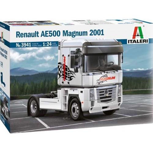 RENAULT AE500 MAGNUM (2001) 1/24 - Italeri 3941