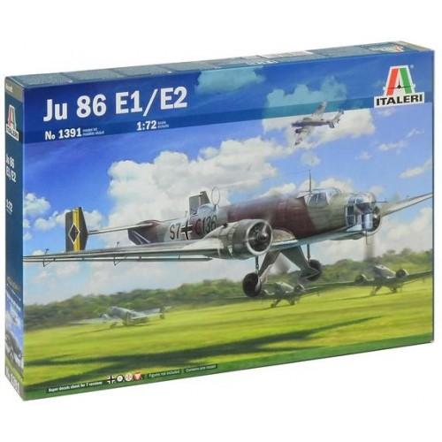 JUNKER JU-86 E1 / E2 ESCALA 1/72 - Italeri 1391