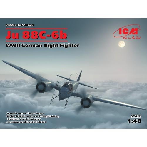 JUNKER JU-88 C 6b Nachtjäger 1/48 - ICM 48239
