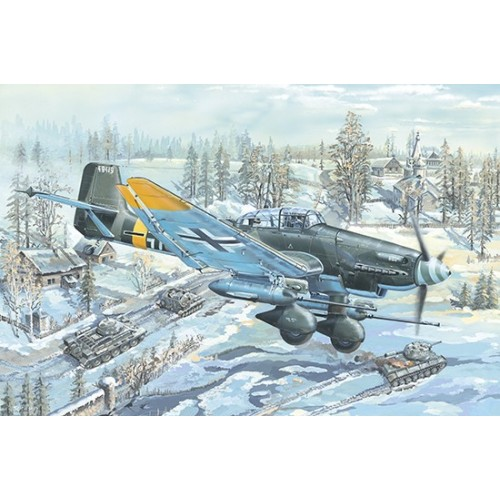 JUNKERS JU-87 G-2 STUKA -Escala 1/24- Trumpeter 02425