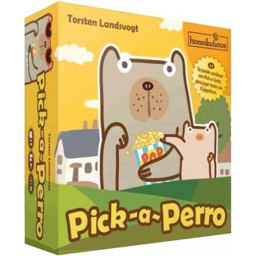 Juego de cartas: PICK A PERRO
