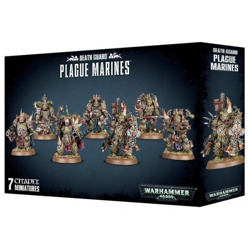 DEATH GUARD PLAGUE MARINES - GAMES WORKSHOP 43-55