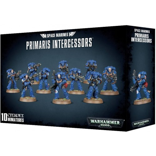 SPACE MARINES PRIMARIS INTERCESSORS - GAMES WORKSHOP 48-75