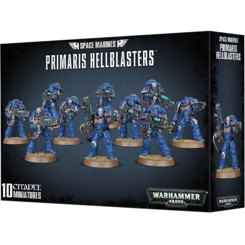 SPACE MARINES PRIMARIS HELLBLASTERS - GAMES WORKSHOP 48-76