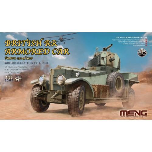 COCHE BLINDADO ROLLS ROYCE PATTERN 1914/1920 1/35 - Meng Model VS-010