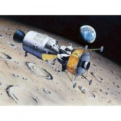 Apollo 11: NAVE COLUMBIA & EAGLE 1/96 - REVELL 03700