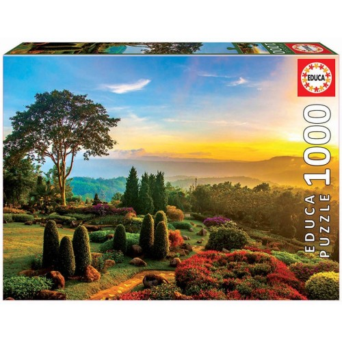 PUZZLE 1000 Pzas BEAUTIFUL GARDEN - Educa 17968