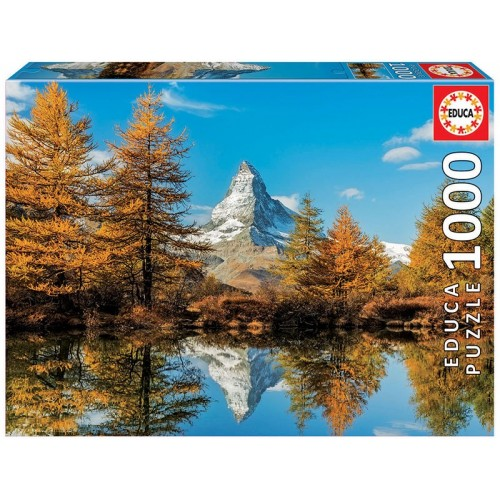 PUZZLE 1000 Pzas MATTERHORN IN AUTUMN - Educa 17973