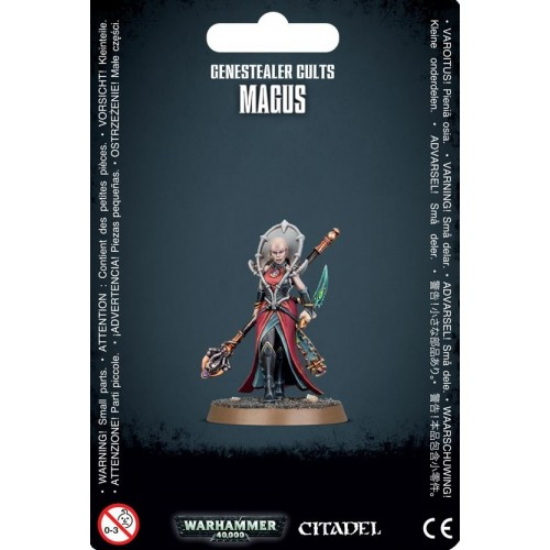 GENESTEALER CULTS MAGUS - GAMES WORKSHOP 51-47