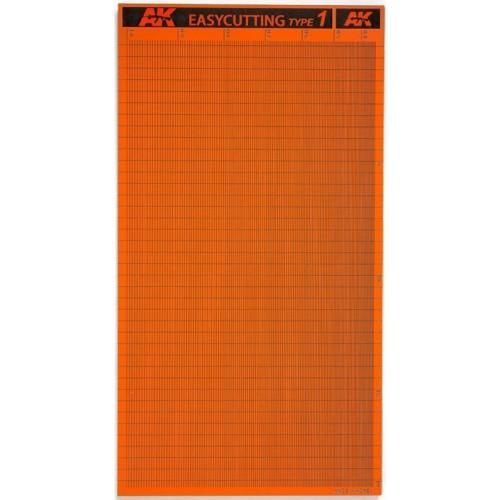 PLANCHA EASYCUTTING BOARD TYPE 1 (116x215x3mm) - AK 8056